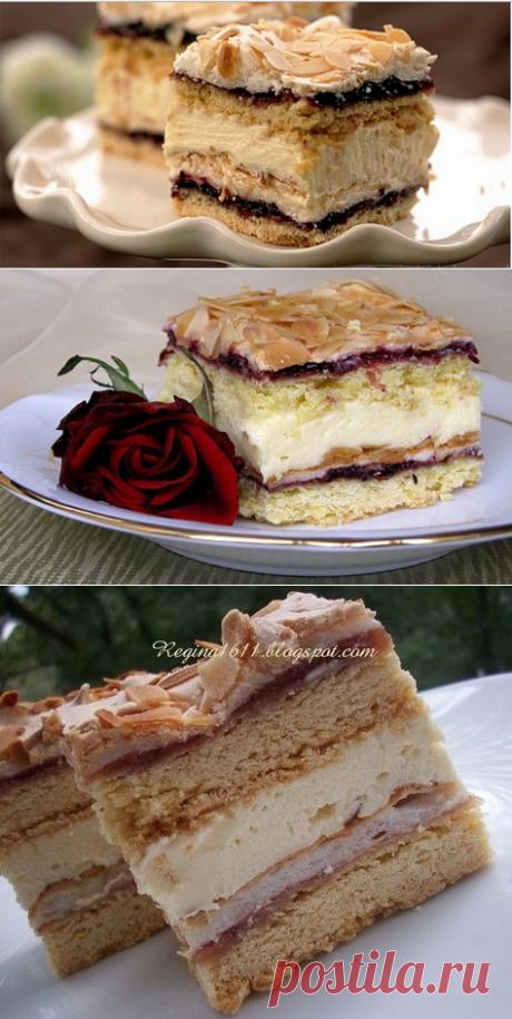 """Торт """" Пани Валевска"""""""