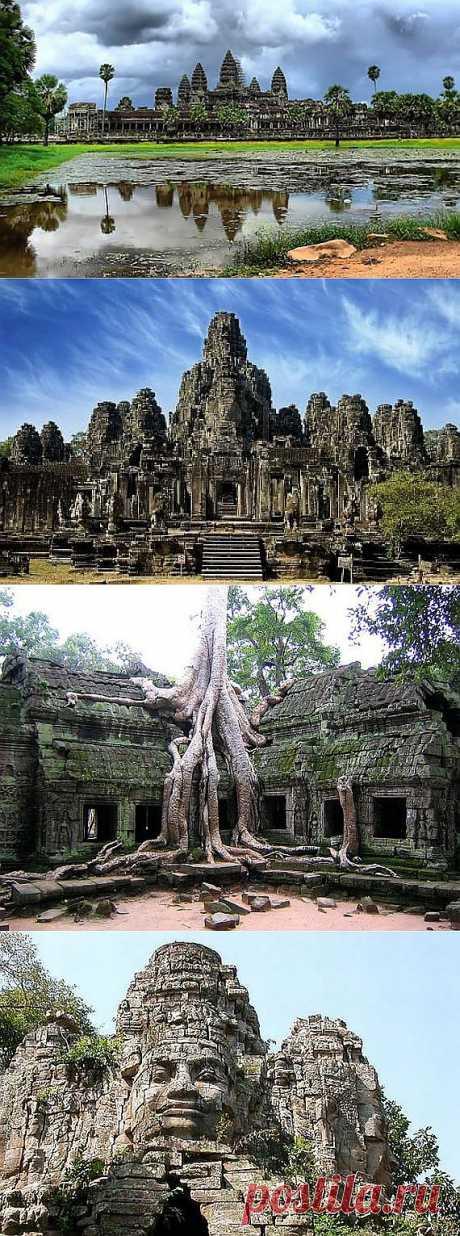 Храм Ангкор Ват, Камбоджа с видео