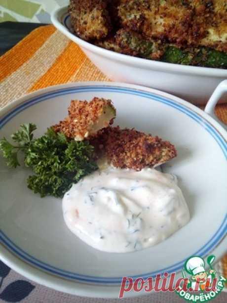 Кабачок фри в духовке - кулинарный рецепт