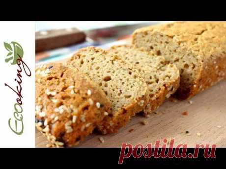 🔥ХИТ! Хлеб из зеленой гречки /без глютена / без муки / без дрожжей / ПП