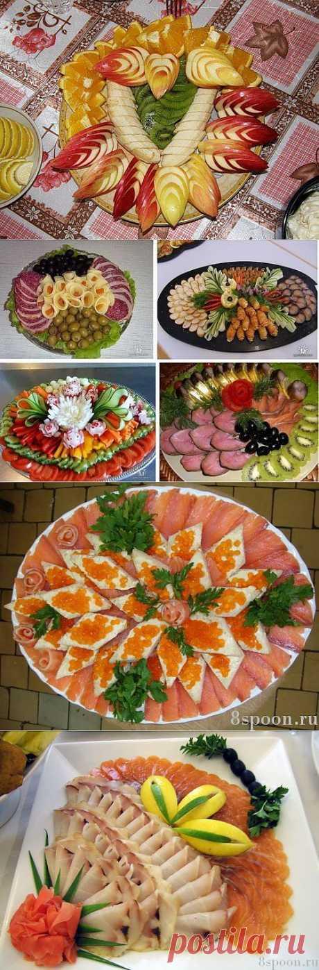 Adornamientos de los platos - más interesante en los blogs