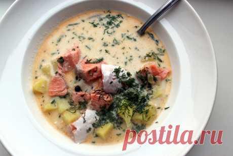Настоящий финский рыбный суп со сливками по классическому рецепту | Домашняя кухня Алексея Соколова | Яндекс Дзен