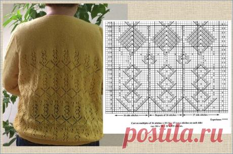 Джемпер для полных - красивые и современные модели со схемами - вязание спицами | МНЕ ИНТЕРЕСНО | Яндекс Дзен