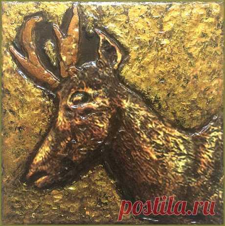 плитка, плитка ручной работы, панно охота, плитка декоративная, плитка дикие животные, дикие животные, стиль шале, декор загородного дома