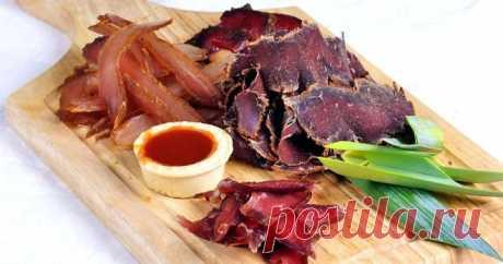Вяленое мясо — рецепты в домашних условиях из говядины, свинины и куриной грудки - Кейс советов