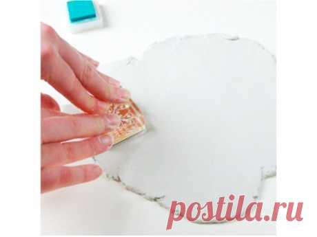 Декор тарелки из полимерной глины: мастер-класс   Высоцкая Life