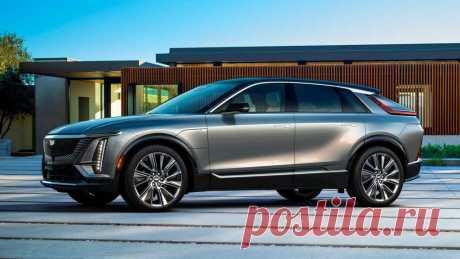 Электрокар Cadillac LYRIQ 2023: цена, комплектация, характеристики
