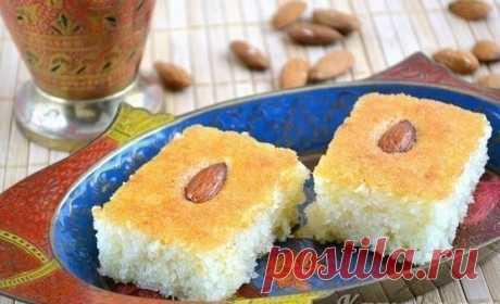 Басбуса — известная арабская сладость — Фактор Вкуса