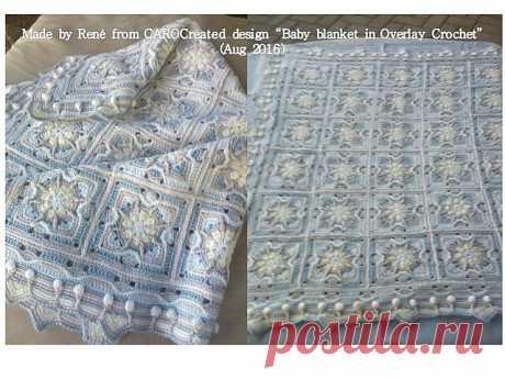 Ravelry: детское одеяло Goffel's, связанное крючком