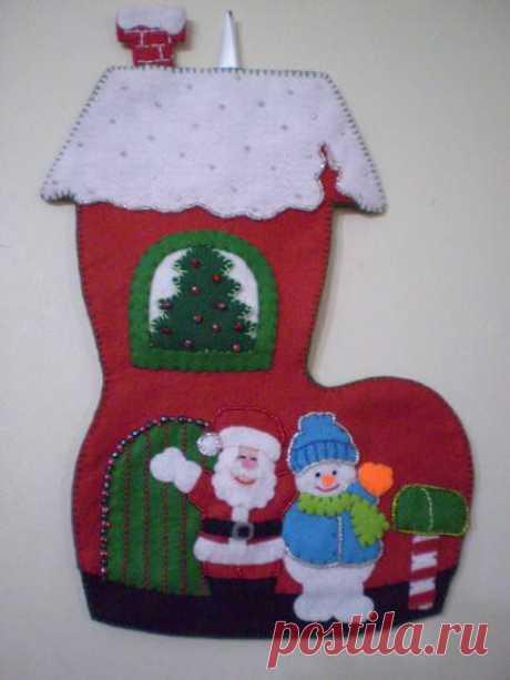 bota navideña