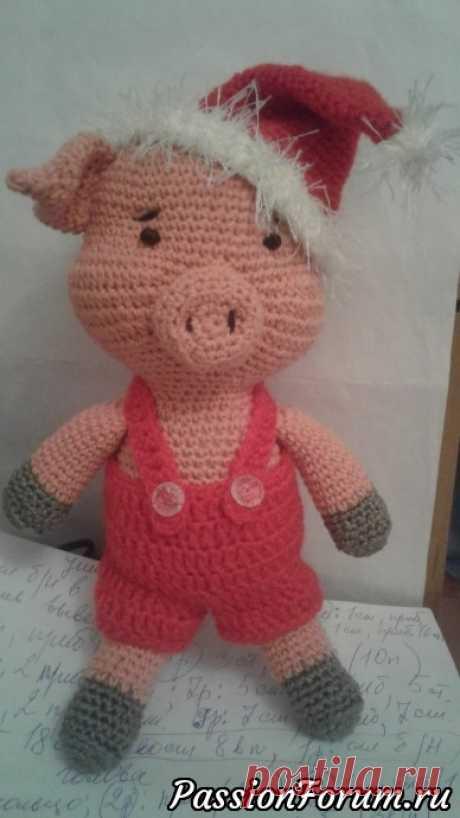 Мои свинки - символы наступающего года - запись пользователя бабуля (Галина) в сообществе Мир игрушки в категории Вязаные игрушки. Мастер-классы, схемы, описание.