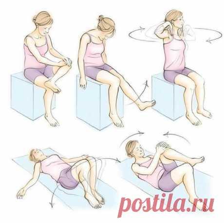 Антиревматические упражнения для суставов