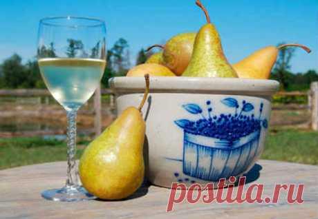 Вино из груши в домашних условиях - 8 простых рецептов