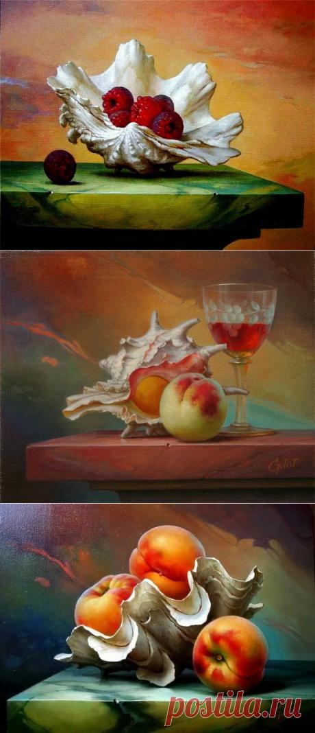 Изумительные работы художника Gabor Toth