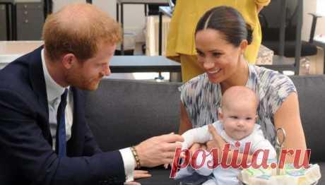 Меган Маркл и принц Гарри поделились ранее не опубликованным фото сына Арчи | Офигенная