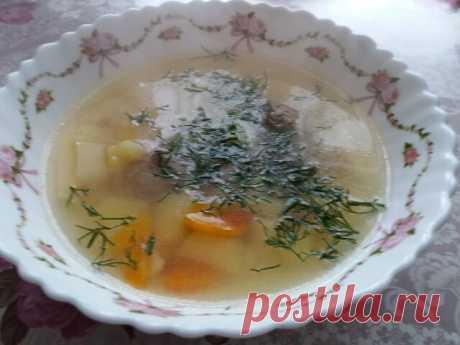 Суп с фрикадельками и лапшой - самый вкусный рецепт