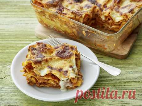 Как итальянская лазанья стала нашим фирменным семейным блюдом: история и рецепт | Соло-путешествия | Яндекс Дзен