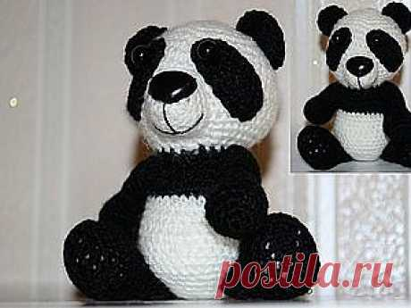 Панда - Ярмарка Мастеров - ручная работа, handmade