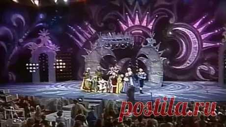 На балу у Золушки. Новогодний концерт, 1994. Детская передача