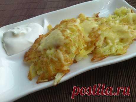 Кулинария>Картофельные драники с сыром