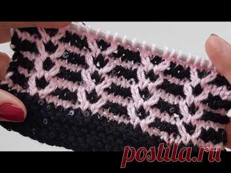 İki Renkli Model / 2 Colors Knitting