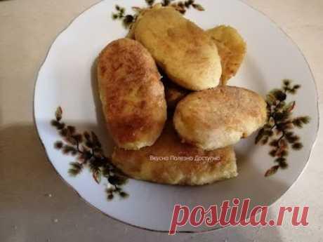 Вкусные Нежные Картофельные Котлеты с куриным фаршем