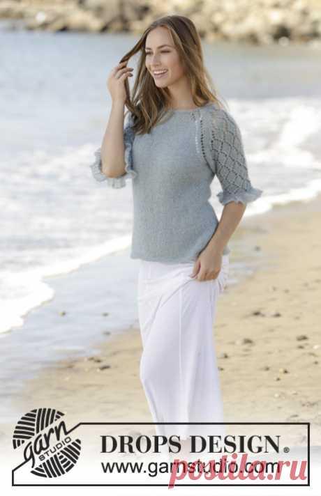 Джемпер Seaside Dream - блог экспертов интернет-магазина пряжи 5motkov.ru