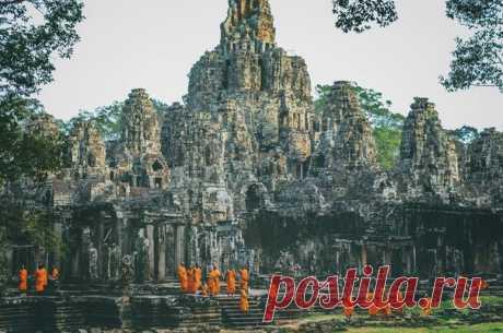 Храмовый комплекс Ангкор-Ват, Камбоджа. Автор фото — Наталья Мароз: nat-geo.ru/photo/user/114065/
