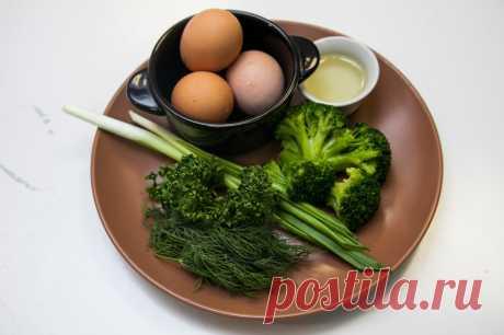 Омлет с брокколи - рецепт - как приготовить - ингредиенты, состав, время приготовления - Леди Mail.Ru