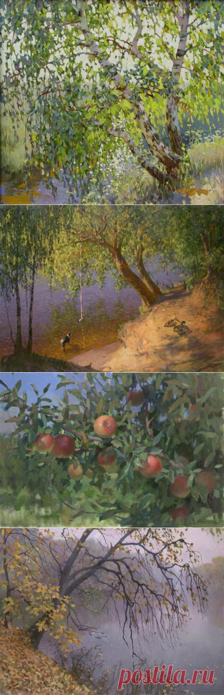 Художник Ярослав Зяблов. Серия картин «12 месяцев».