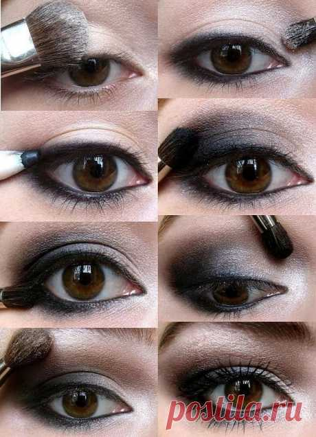 Make-up in Chanel style