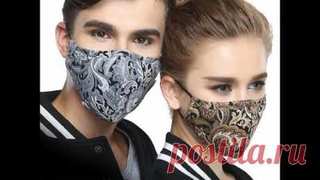 Как сшить маску многоразовую медицинскую своими руками быстро и легко Face Mask