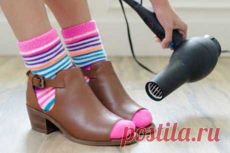 Прощай, мозоль: 7 популярных способов разносить новую обувь и не умереть от боли