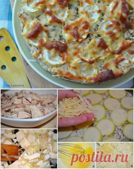 Куриный пирог от Юлии Высоцкой - Простые рецепты Овкусе.ру