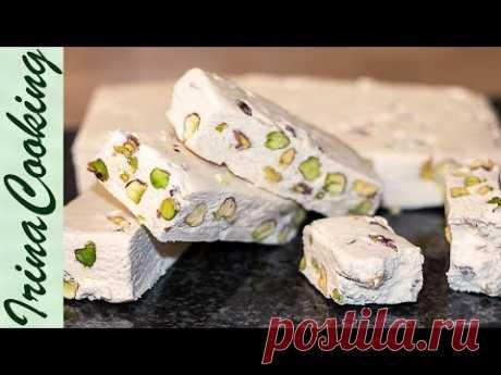 ВОСТОЧНЫЕ СЛАДОСТИ ○ НУГА в домашних условиях | NUGA ○ Oriental Sweets at Home