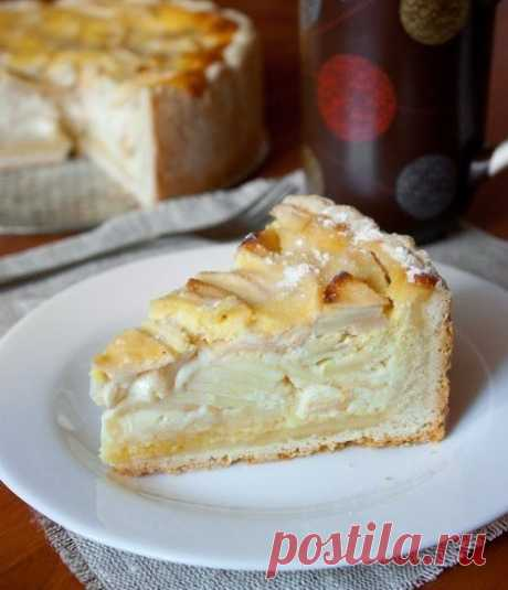"""Пирог """"Неженка"""" - теперь он у меня самый любимый!   Про рецептики - лучшие кулинарные рецепты для Вас!"""