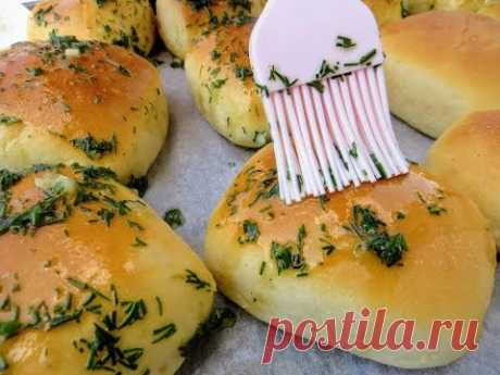 Вы забудете про хлеб! Чесночные пампушки - вы удивитесь, как это легко и вкусно / Garlic bread
