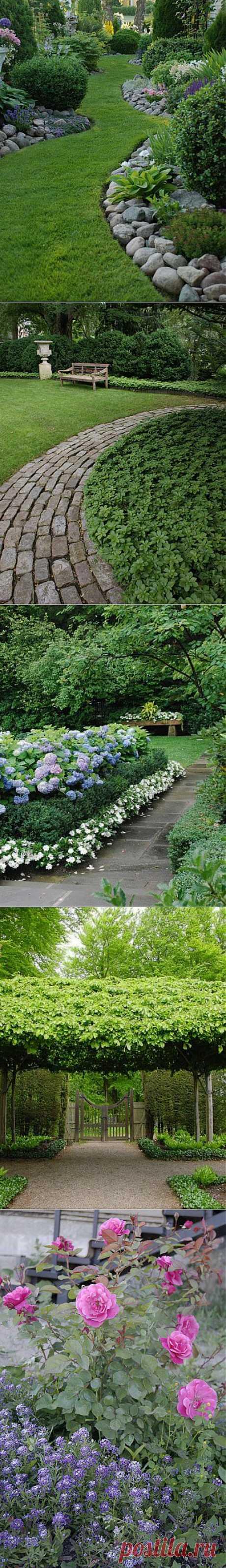 Красивый дизайн сада своими руками: 10 главных секретов   ВСЁ ДЛЯ ДОМА