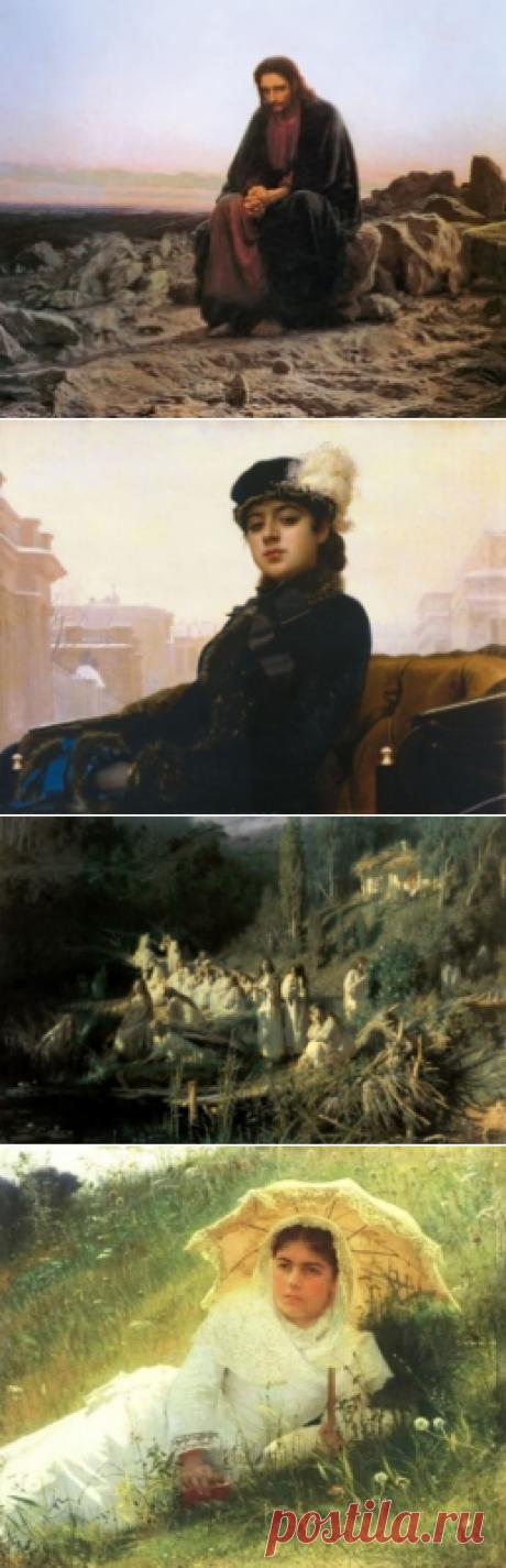 Все картины художника Ивана Крамского