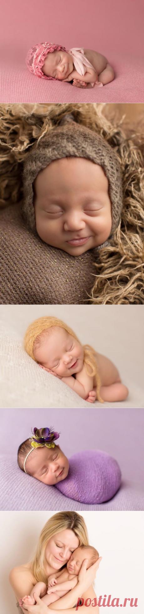 Фотограф, который ловит улыбки спящих младенцев | В темпі життя