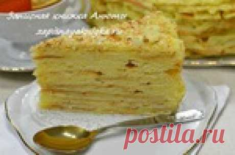 Napoleon cake. Do not look for the best recipe - this is ideal!!!