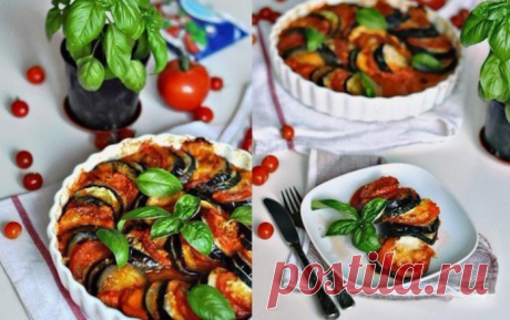Dish which cannot be forgotten! Bright Ratatouille — delight for eyes!