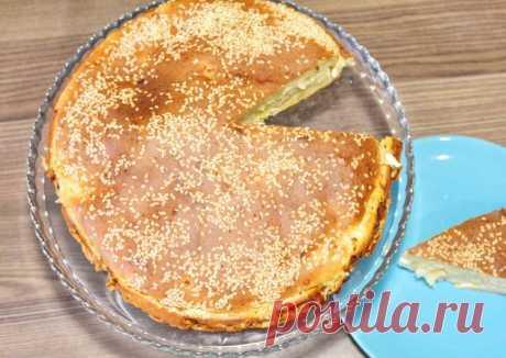 ❤️Заливной пирог с капустой на кефире. Быстрый, простой пирог с капустой❤️ Автор рецепта Еда проста! - Cookpad