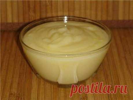 Заварной крем для бисквита - рецепт с фото / Простые рецепты