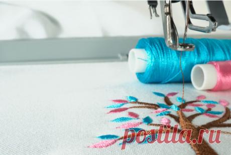 Как я сделала вышивку на обычной швейной машинке и сэкономила 4290 рублей!   Звездаева - Мастер-классы Рукоделие DIY Handmade   Яндекс Дзен