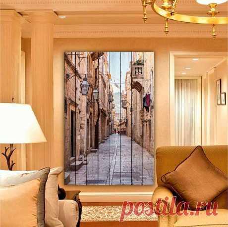 """Картина """"Улицы Дубровника"""" по цене от 5900 руб. Размеры: 60x90 см, 80x120 см, 100x150 см, 120x180 см. Срок изготовления: 2-3 дня."""