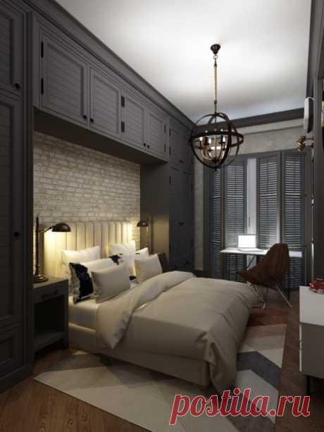 Проект спальни - Дизайн интерьеров   Идеи вашего дома   Lodgers