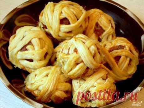 Клубочки ниток - пошаговый рецепт с фото на Повар.ру