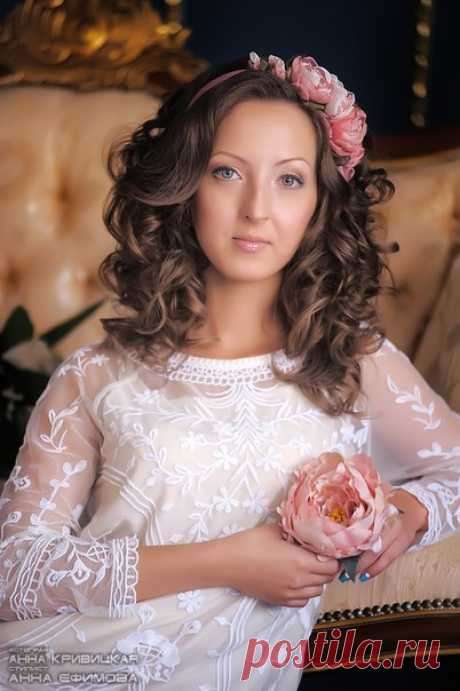 Нежный образ для невесты. Стилист Анна Ефимова фото Анна Кривицкая