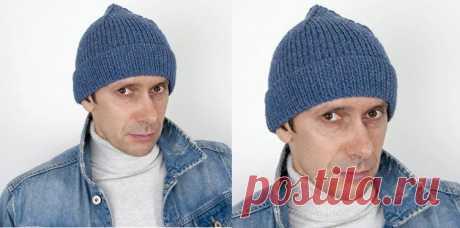 """Вяжем модную шапочку Кусто спицами Эта модель поднялась на волне моды после выхода фильма """"Одиссея"""" о знаменитом океаногрофе и путешественнике Жак - Иве Кусто. Фильм вышел в конце 2016 г и в 2017 шапка Кусто обрела популярность."""